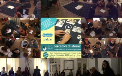 Cercatori di storie – workshop and multiplier event in Torino