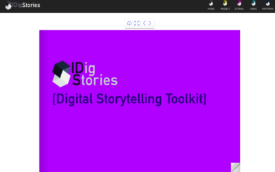 DOWNLOAD THE GUIDE AND THE TOOLKIT ON DIGITAL STORYTELLING