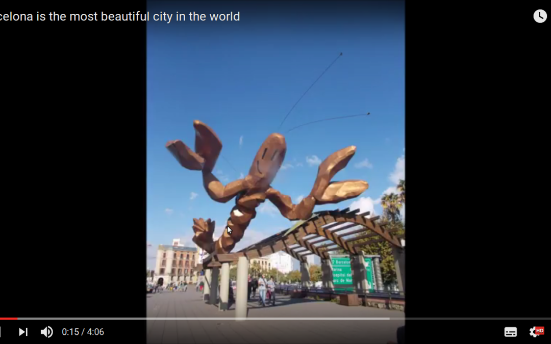 Barcelona is the most beautiful city in the world